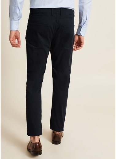 Bisse BPNS20K20502 Slim Fit 5 Cep Spor Pantolon Siyah
